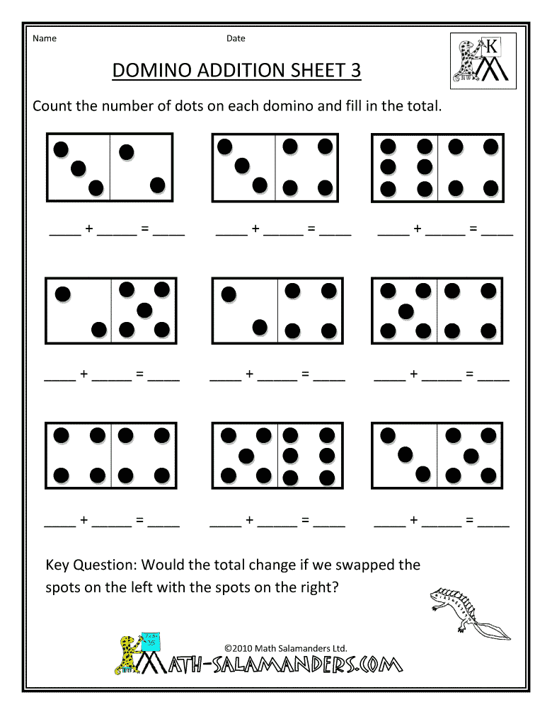Kindergarten Math Tests Printables free kindergarten math test – Math Assessment Worksheets